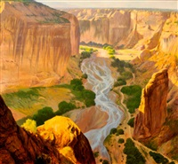 canyon landscape by curt walters