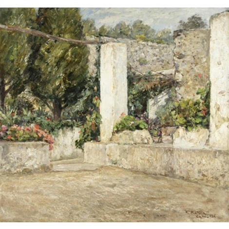 Terrazza fiorita by Fausto Pratella on artnet