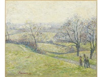 epping, april by lucien pissarro