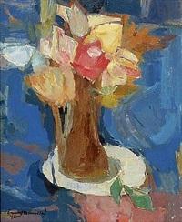 bouquet de fleurs by ernest kosmowski