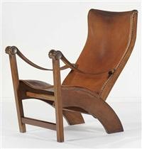 fauteuil modèle copenhagen by mogens voltelen
