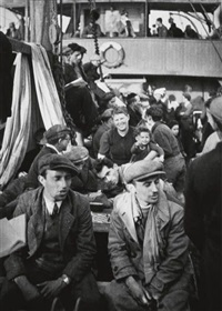 german-jewish refugees on board the ship