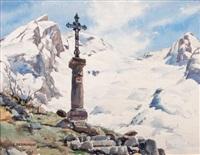 la croix de balme à la clusaz by eugène bernhardt