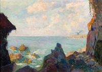 la côte rocheuse by louis fortuney