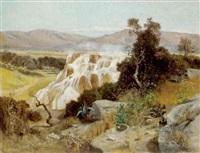 die heißen quellen von pamukkale, türkei by paul reiffenstein