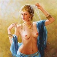 an oriental dancer by alexander akopov