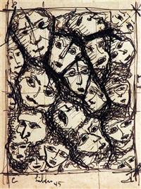 figuras (2 works) by líbero badii