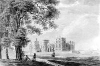 windsor castle from the southeast by james miller