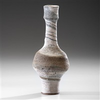 narrow rim bottle by lucie rie