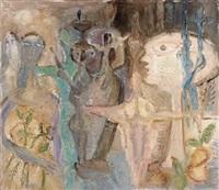 komposition mit figuren by arnold d' altri