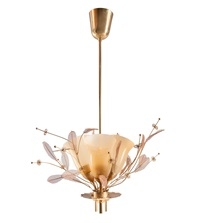 ceiling lamp bridal bouquet by paavo tynell