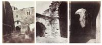 vues prises lors du voyage de karak à chaubak (3 works, various sizes) by henri sauvaire