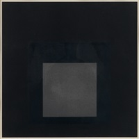 midnight + noon i by josef albers