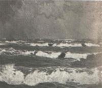 crashing surf by achenbach