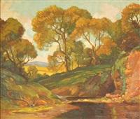 autumn landscape by dana bartlett