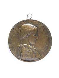 tess of the d'urbervilles medallion by sir william hamo thornycroft