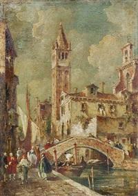 venedig - blick auf san giorgio maggiore by e. zeno