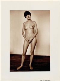 hommage à seurat, new york by jeanloup sieff