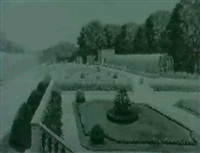 the gardens at schonbrunn palace by josef pögl