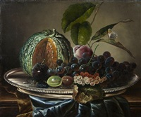 still life with fruit by james charles ward