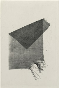torn and folded scrap of crape by william henry fox talbot
