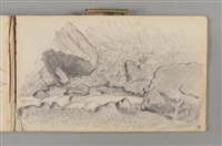 carnet du grand-lemps et du dauphiné (sketchbook w/c.46 works) by pierre bonnard