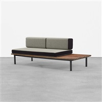 bench from cité cansado, mauritania by charlotte perriand