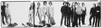 andy warhol and members of the factory, new york city (triptych) by richard avedon