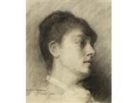 portrait of mrs. heseltine by john lavery