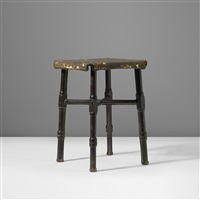 stool by jacques adnet