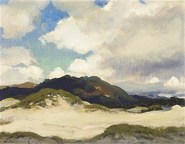 sand dunes monterey coast by arthur hill gilbert