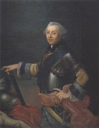 ritratto di gentiluomo in armatura by carlo amalfi