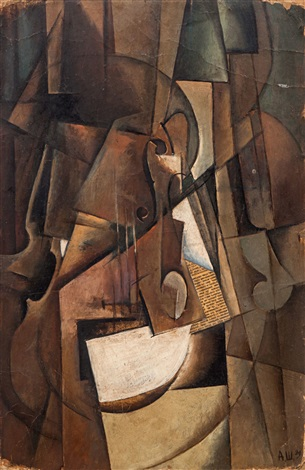 the violin by aleksandr vasilievich shevchenko