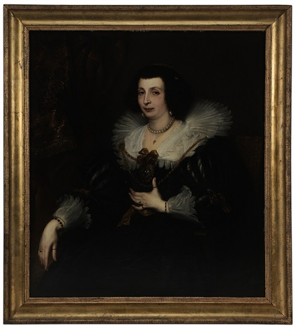 portrait of anna maria de camudio by sir anthony van dyck