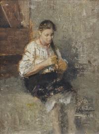 portrait of marfoucha by ivan pavlovich pokhitonov