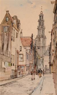 view of the westerkerk by jan den hengst