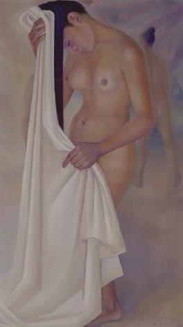 desnudo peinándose by francisco dosamantes