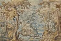 paysage boisé by gillis claesz de hondecoeter