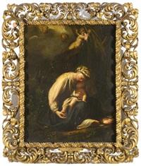 madonna and child, la zingarella by correggio