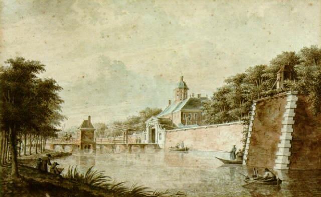 the utrechtsepoort amsterdam by theodor dirk verryck