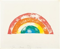regenbogen by jim dine
