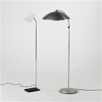 floor lamp (+ another; 2 works) by kurt versen