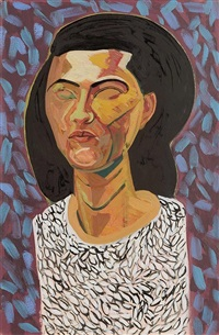portait of a lady by brian bourke