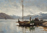 balestrand by frithjof smith-hald