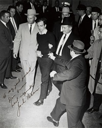 jack ruby shooting lee harvey oswald. ferroytyped by jack beers