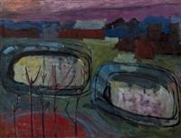 autumnal landscape by john melville