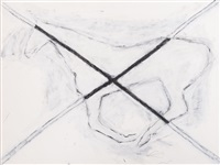 untitled drawing #45 by susan rothenberg