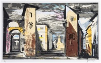 street scene in don giovanni by john piper