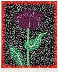 tulipe (ⅰ) by yayoi kusama