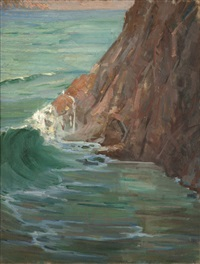 california coast by kathryn woodman leighton